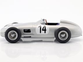 Karl Kling Mercedes-Benz W196 #14 3rd British GP formula 1 1955