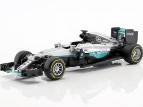 Lewis Hamilton Mercedes F1 W07 Hybrid #44 formula 1 2016 1:43 Bburago