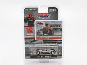 Will Power Chevrolet #12 Winner Indy 500 Champion Indycar Series 2018 Team Penske 1:64 Greenlight