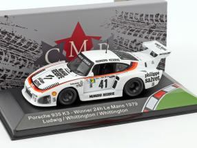 Porsche 935 K3 #41 Winner 24h LeMans 1979 Ludwig, Whittington, Whittington 1:43 CMR