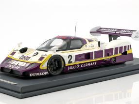 Jaguar XJR11 #2 5th 480km Nürburgring 1989 Walace, Nielsen mit Vitrine 1:18 MCW
