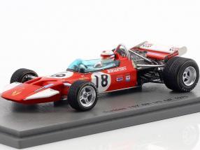 Derek Bell Surtees TS7 #18 6th US GP Formel 1 1970 1:43 Spark