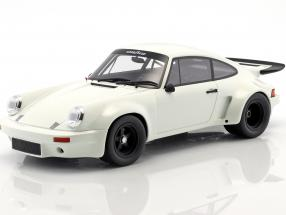 Porsche 911 3.0L RSR year 1974 grand prix white 1:18 GT-Spirit