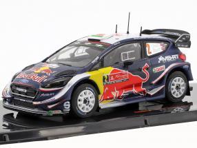 Ford Fiesta WRC #2 2nd Rallye Portugal 2018 Evans, Barritt 1:43 Ixo