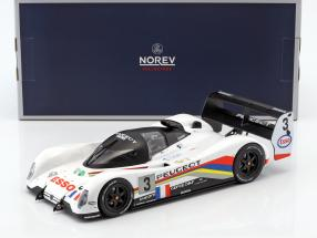 Peugeot 905 Evo 1B #3 Winner 24h LeMans 1993 Helary, Bouchut, Brabham 1:18 Norev