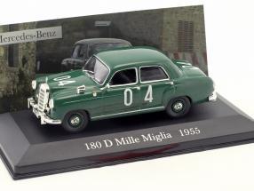 Mercedes-Benz 180 D #04 Mille Miglia 1955 1:43 Altaya