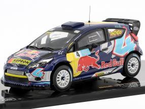 Ford Fiesta RS WRC #4 Bologna Motorshow 2011 A. Dovizioso 1:43 Ixo