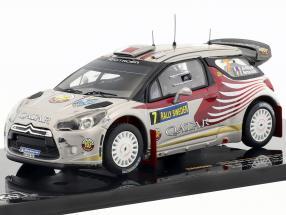 Citroen DS3 WRC #7 Rallye Sweden 2012 Attiyah, Bernacchini 1:43 Ixo