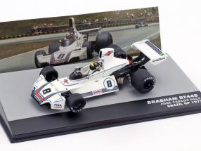 Carlos Pace Brabham BT44B #8 Winner GP Brazil Formula 1 1975 1:43 Altaya