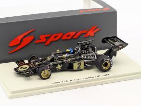Ronnie Peterson Lotus 72E #2 Winner Frankreich GP Formel 1 1973 1:43 Spark