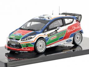 Ford Fiesta WRC #3 UK Test Kirkbride Airfield 2011 Simoncelli 1:43 Ixo
