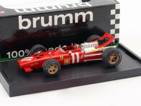 Chris Amon Ferrari 312 F1 #11 MonteCarlo GP Formel 1 1969 1:43 Brumm