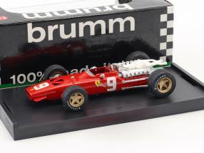 Chris Amon Ferrari 312 F1 #9 6th Niederlande GP Formel 1 1968 1:43 Brumm