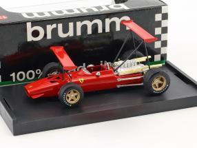 Chris Amon Ferrari 312 F1 Prove doppio alettone Modena 1969 1:43 Brumm