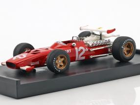 Pedro Rodriguez Ferrari 312 F1 #12 Mexiko GP Formel 1 1969 1:43 Brumm