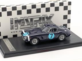 Ferrari 250 GT Passo Corto #7 Winner RAC Tourist Trophy 1961 Stirling Moss 1:43 Matrix