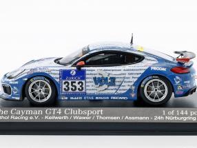 Porsche Cayman GT4 Clubsport #353 24h Nürburgring 2016  Mathol Racing e.V.