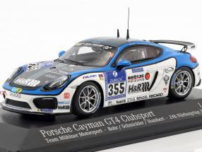 Porsche Cayman GT4 #355 24h Nürburgring 2016 Mühlner Motorsport 1:43 Minichamps