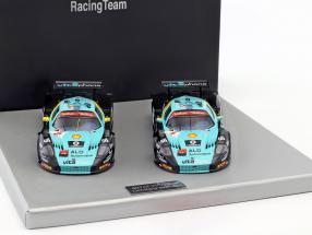 2-Car Set Maserati MC12 GT1 #1 / #2 Winner and 2nd 24h Spa 2008 1:43 Ixo