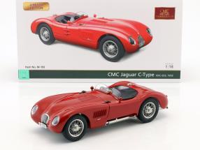 Jaguar C-Type year 1952 red 1:18 CMC