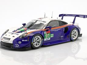Porsche 911 (991) RSR #91 2nd LMGTE Pro 24h LeMans 2018 1:18 Spark