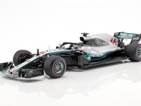 Lewis Hamilton Mercedes-AMG F1 W09 EQ Power+ #44 Winner Azerbaijan GP Formel 1 2018 1:18 Spark
