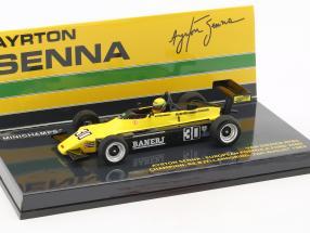 A. Senna Van Diemen RF82 #30 Europe formula Ford 2000 champion 1982 1:43 Minichamps