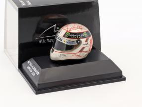 M. Schumacher Mercedes F1 W03 300th GP Spa Formula 1 2012 Helmet 1:8 Schuberth