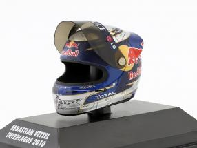 S. Vettel Red Bull GP Brazil Formula 1 World Champion 2010 Helmet