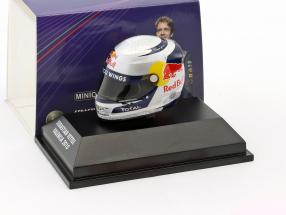 S. Vettel Red Bull GP Valencia Formula 1 World Champion 2010 Helmet 1:8 Minichamps