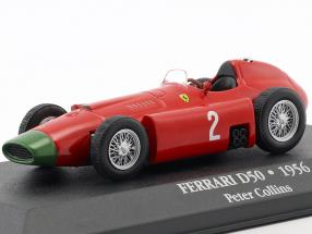 Peter Collins Ferrari D50 #2 formula 1 1956 1:43 Atlas