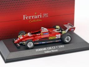 Didier Pironi Ferrari 126 C2 #28 formula 1 1982 1:43 Atlas