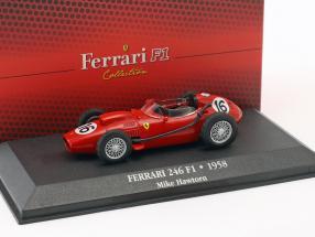 Mike Hawthorn Ferrari 246 F1 #16 Formel 1 1958 1:43 Atlas