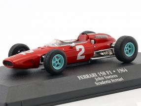John Surtees Ferrari 158 F1 #2 World Champion Formel 1 1964 1:43 Atlas