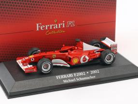 Michael Schumacher Ferrari F2002 #1 World Champion formula 1 2002 1:43 Atlas