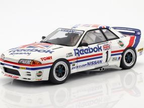 Nissan Skyline GT-R R32 #1 Group A 1990 Reebok 1:18 AUTOart