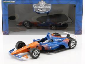 Scott Dixon Honda #9 Champion Indycar Series 2018 1:18 Greenlight