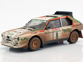 Lancia Delta S4 #8 Dirty Version  Rallye Sanremo 1986 Cerrato 1:18 AUTOart