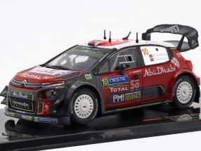 Citroen C3 WRC #10 2nd Rallye Finnland 2018 Ostberg, Eriksen 1:43 Ixo