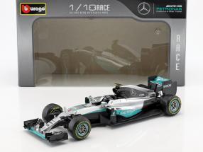 Nico Rosberg Mercedes F1 W07 Hybrid #6 Weltmeister Formel 1 2016 1:18 Bburago