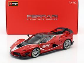 Ferrari FXX-K Evoluzione #54 red 1:18 Bburago Signature