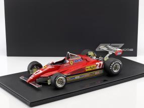 Gilles Villeneuve Ferrari 126 C2 #27 Formel 1 1982 1:12 GP Replicas