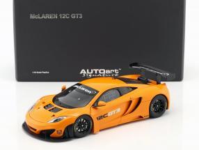 McLaren 12C GT3 Presentation Car 2011 orange 1:18 AUTOart
