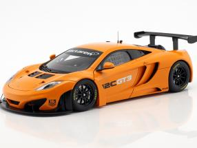 McLaren 12C GT3 Presentation Car 2011 orange 1:18 AUTOart