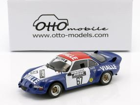 Alpine A110 #67 Gruppe 5 Rallye Cross 1977 Team Vialle 1:18 OttOmobile
