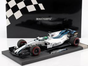 Felipe Massa Williams FW40 #19 Last GP Abu Dhabi GP F1 2017 1:18 Minichamps