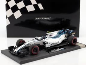 Lance Stroll Williams FW40 #18 Abu Dhabi GP formula 1 2017 1:18 Minichamps