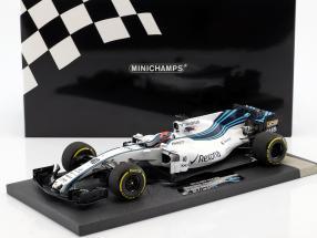 Robert Kubica Williams FW40 #40 test Car Abu Dhabi GP F1 2017 1:18 Minichamps