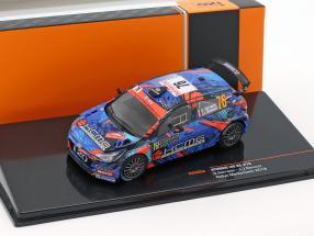 Hyundai i20 R5 #76 Rallye Monte Carlo 2018 Sarrazin, Renucci 1:43 Ixo