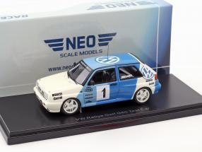 Volkswagen VW Rallye Golf #1 Test Car 1989 E. Weber 1:43 Neo